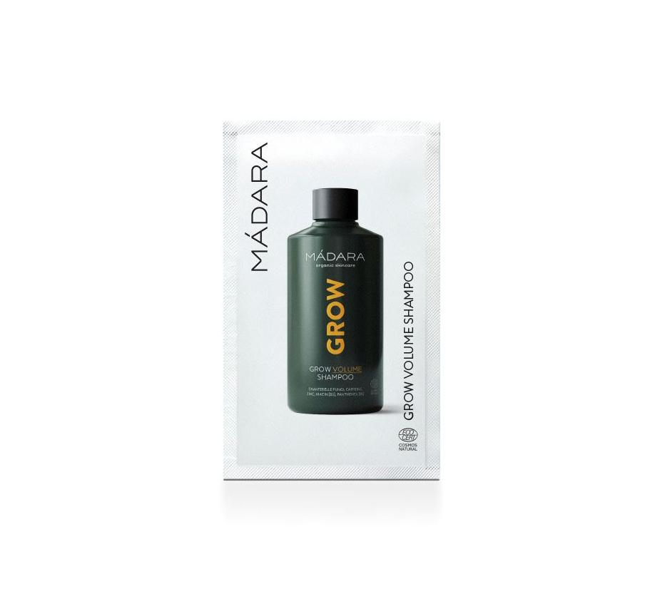 MÁDARA Šampon pro objem a růst vlasů 10 ml