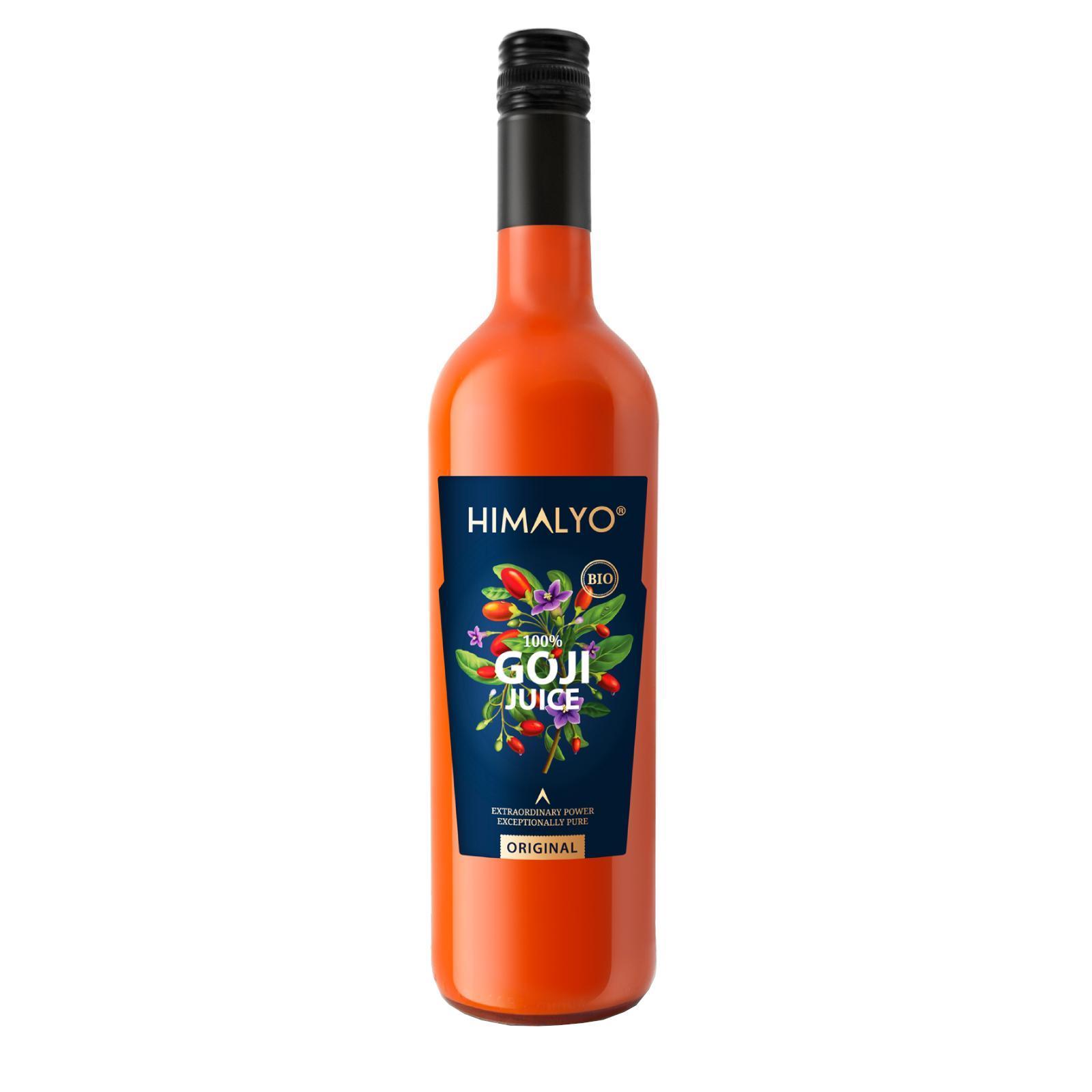 Himalyo 100% Goji šťáva, BIO 750 ml