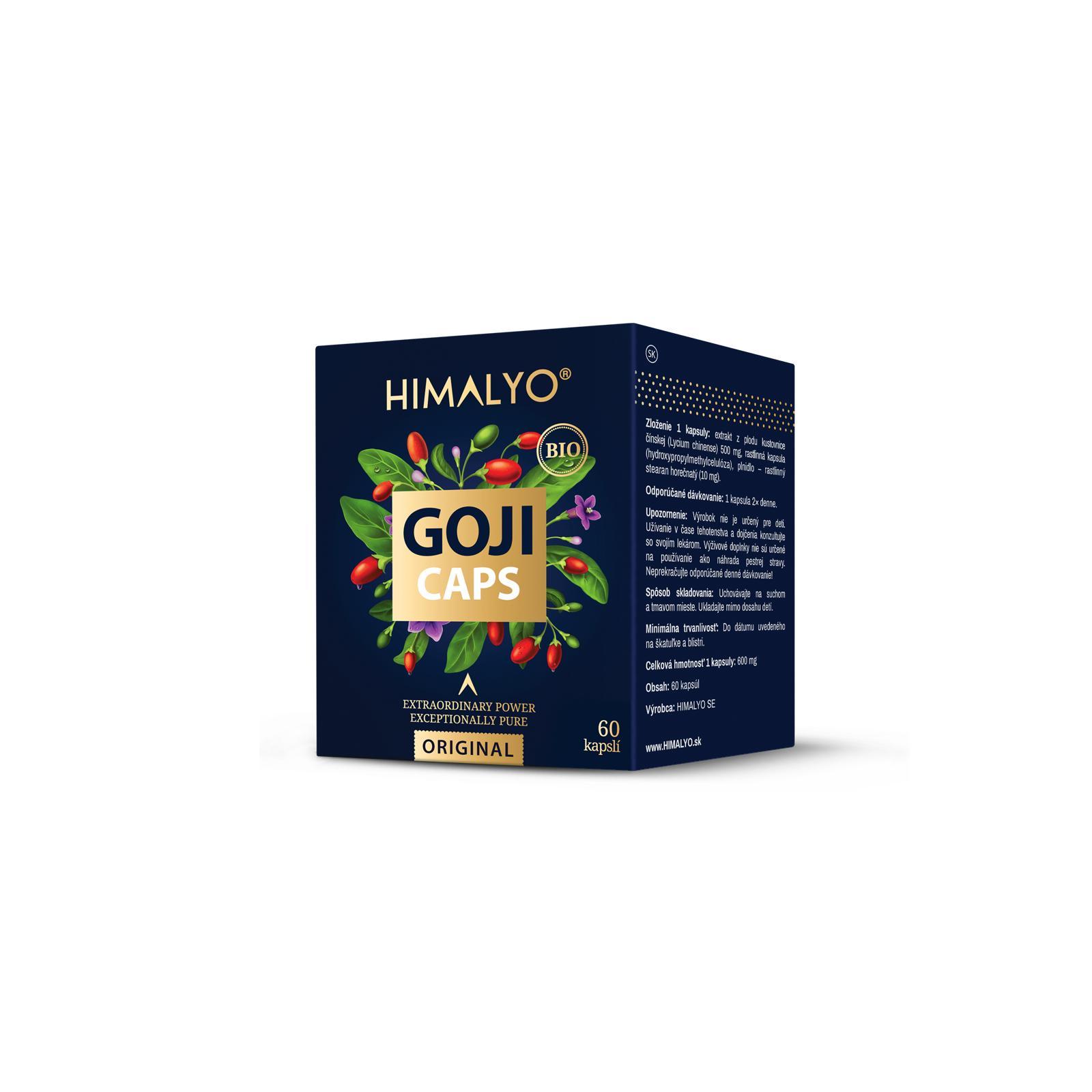 Himalyo Goji, BIO 60 kapslí