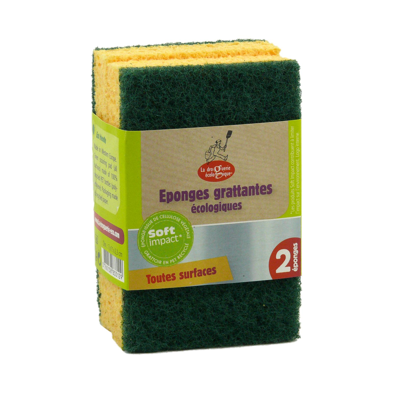 ecodis Eko mycí houbička 2 ks, zelené