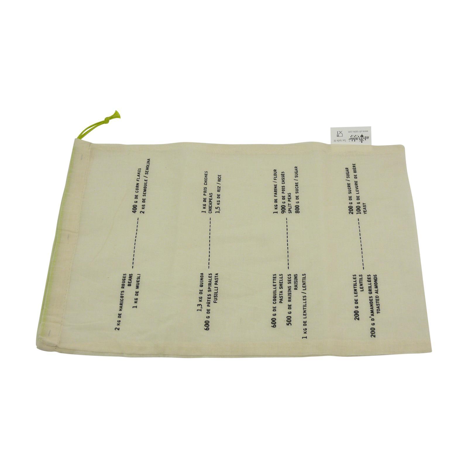 ecodis Plátěný sáček M z biobavlny 1 ks
