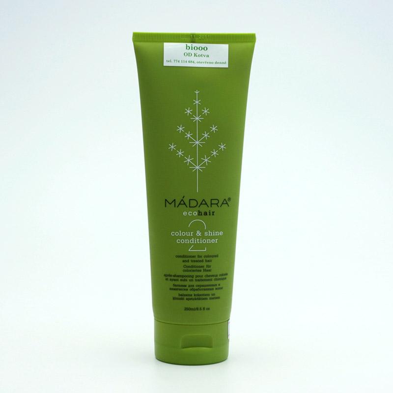 Mádara vzor Kondicionér pro suché a barvené vlasy, colour and shine 250 ml