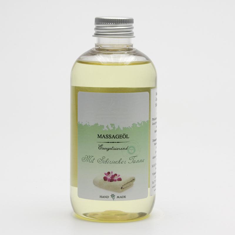 Kanu  ZRUŠENO Masážní olej sibiřská jedle 200 ml