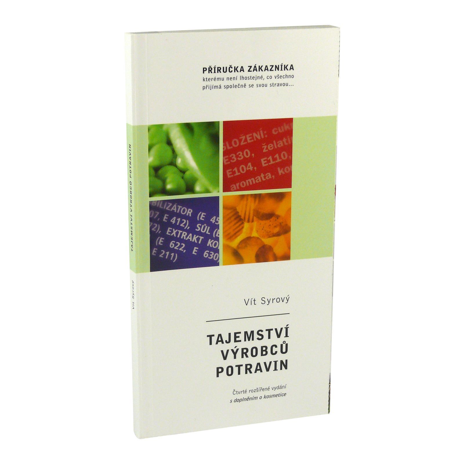 Vít Syrový Tajemství výrobců potravin, Vít Syrový 127 stran