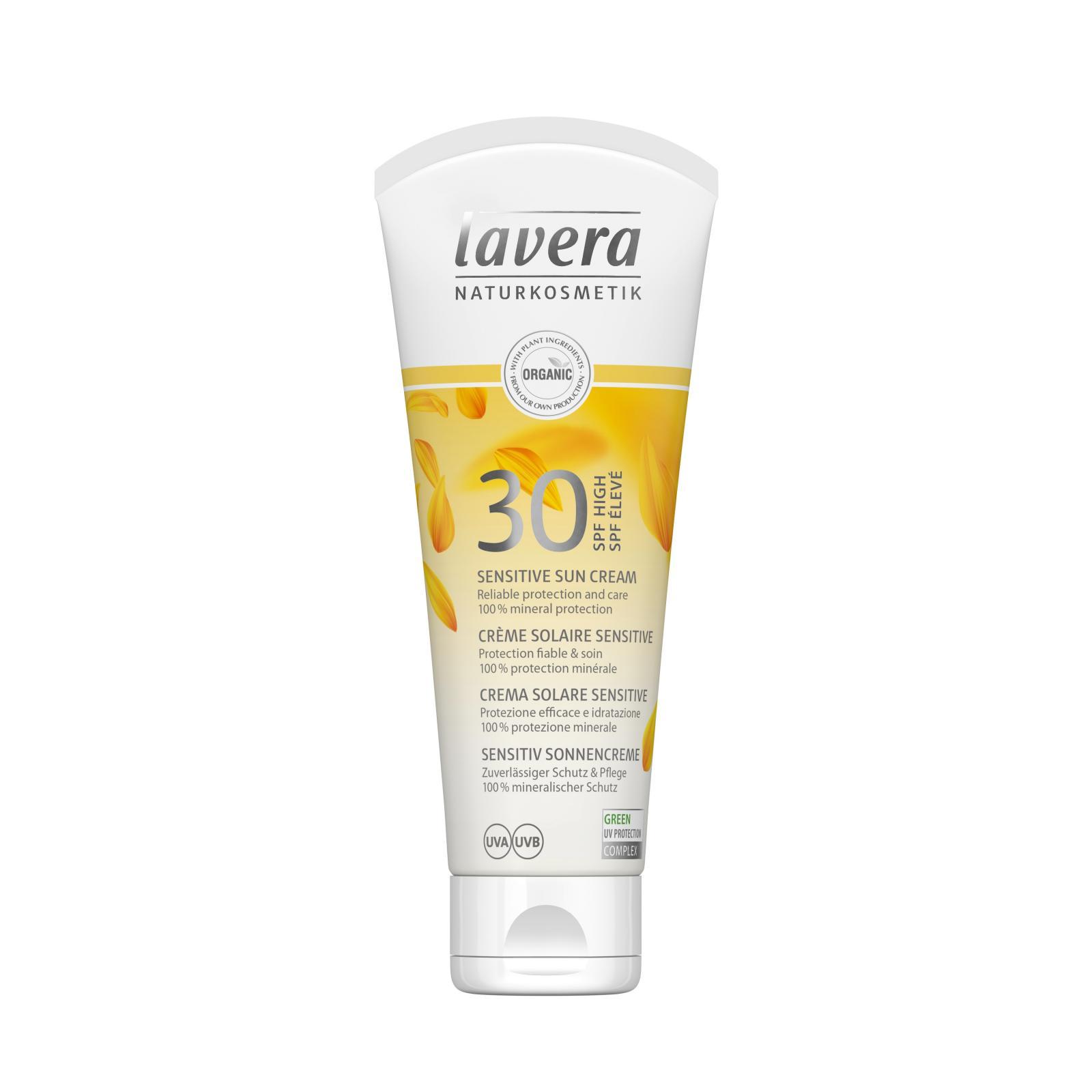Lavera Krém opalovací SPF 30, Sun Sensitiv 100 ml