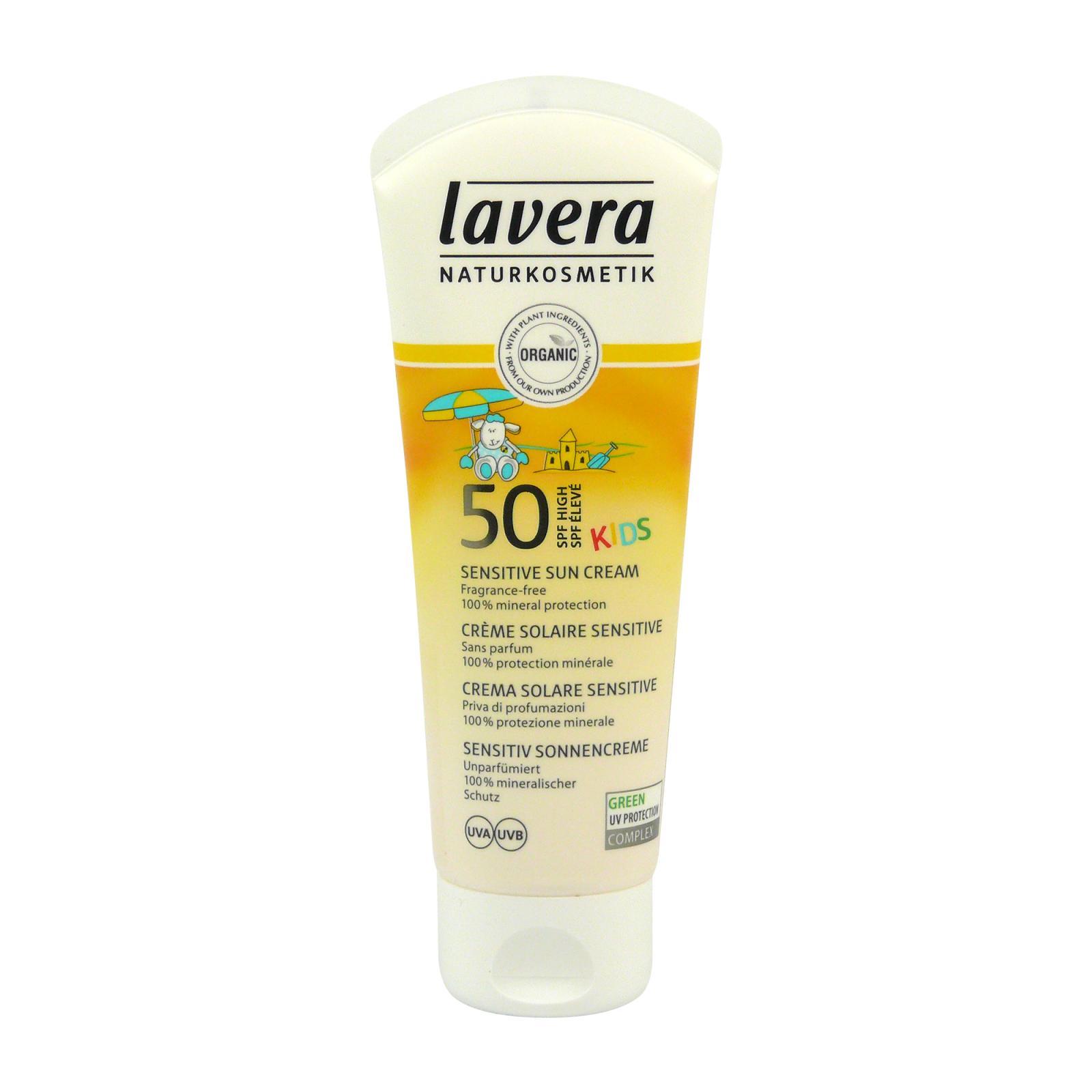 Lavera Krém opalovací SPF 50 pro děti, Sun Sensitive 75 ml
