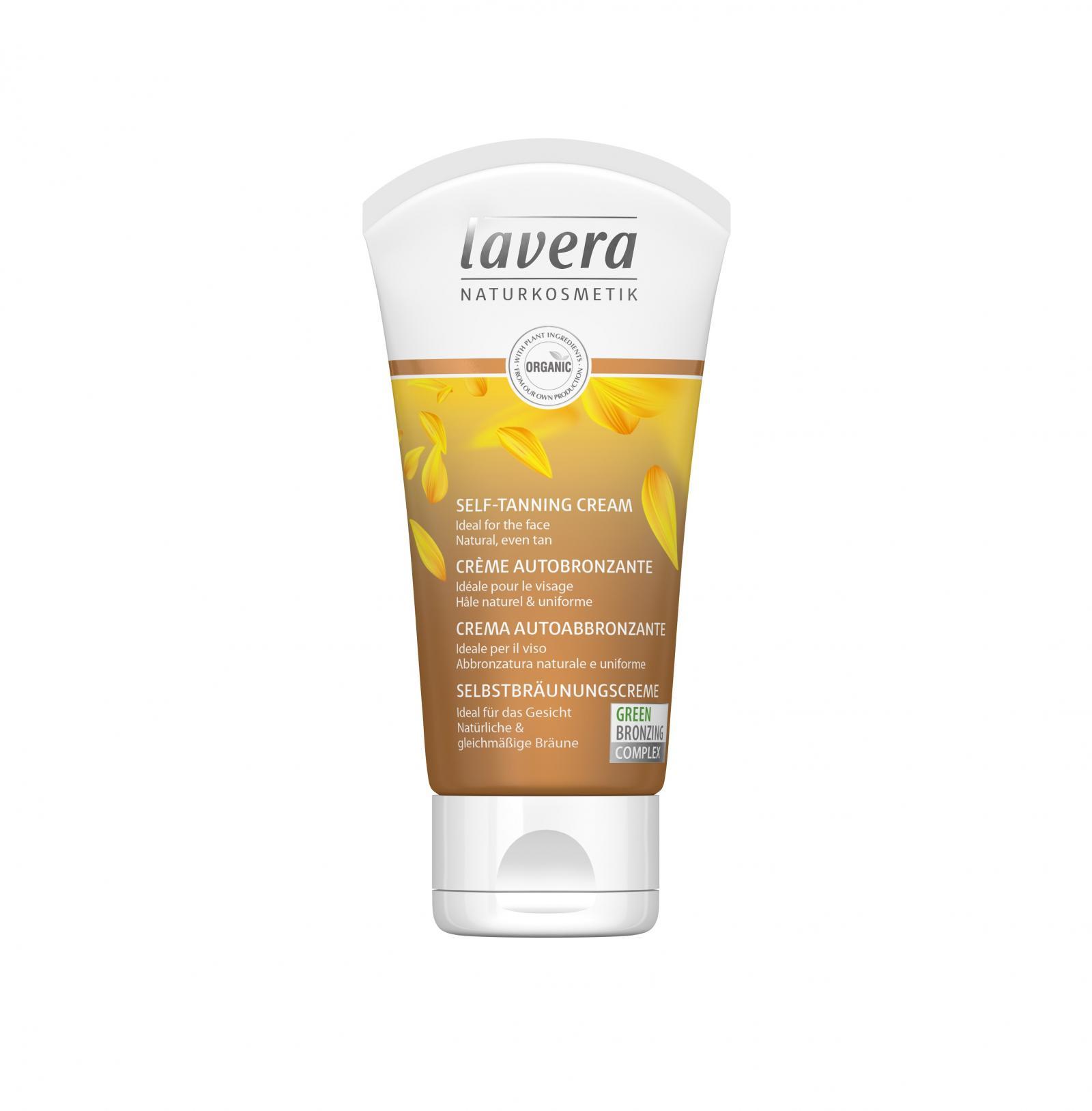 Lavera Samoopalovací krém pleťový, Sun Sensitiv 50 ml