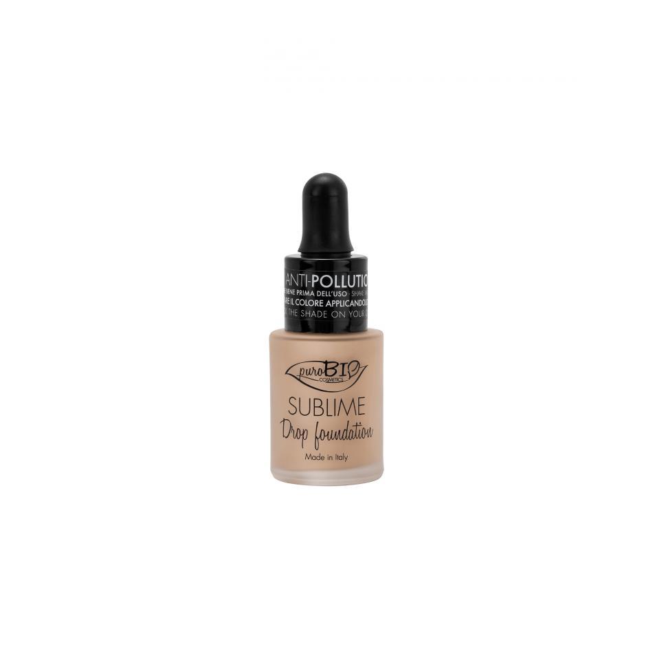 puroBIO cosmetics Tekutý make-up 03Y s SPF 10 19 g