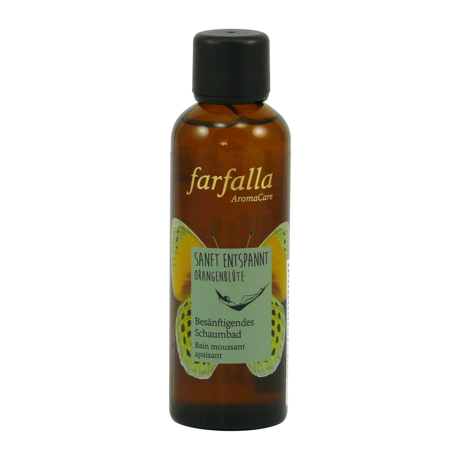 Farfalla Koupelová pěna Uvolňující Pomerančový Květ 75 ml
