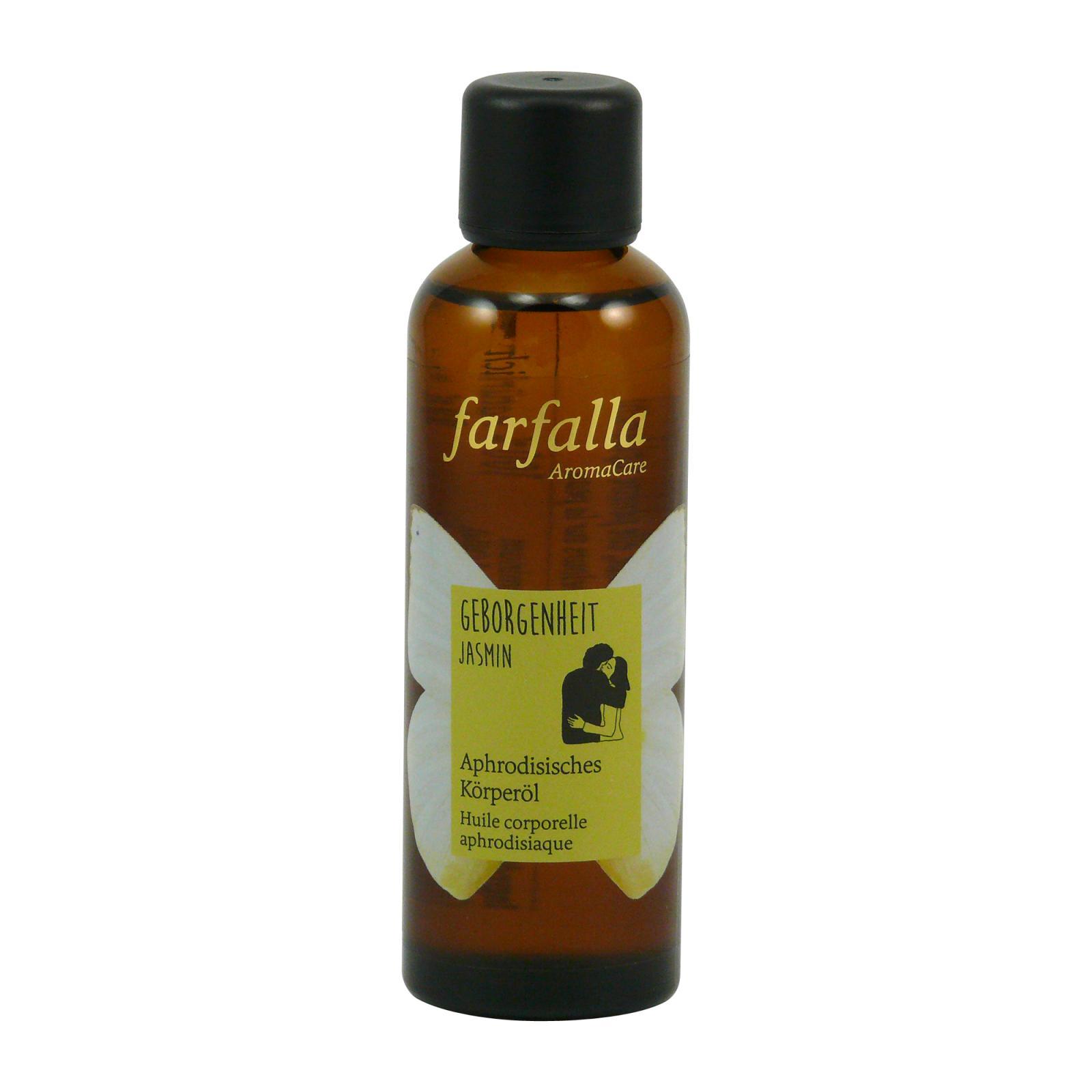 Farfalla Tělový olej Bezpečí, Jasmín 75 ml