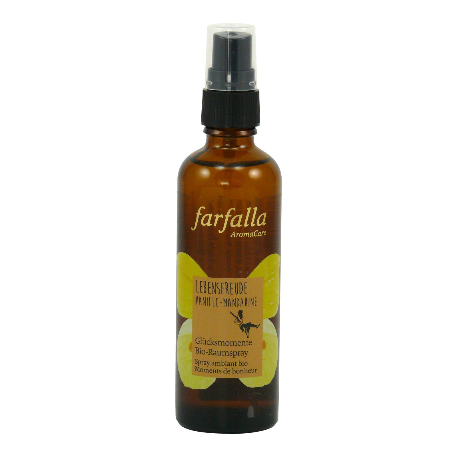 Farfalla Pokojový sprej Radost ze Života, Vanilka a Mandarinka 75 ml