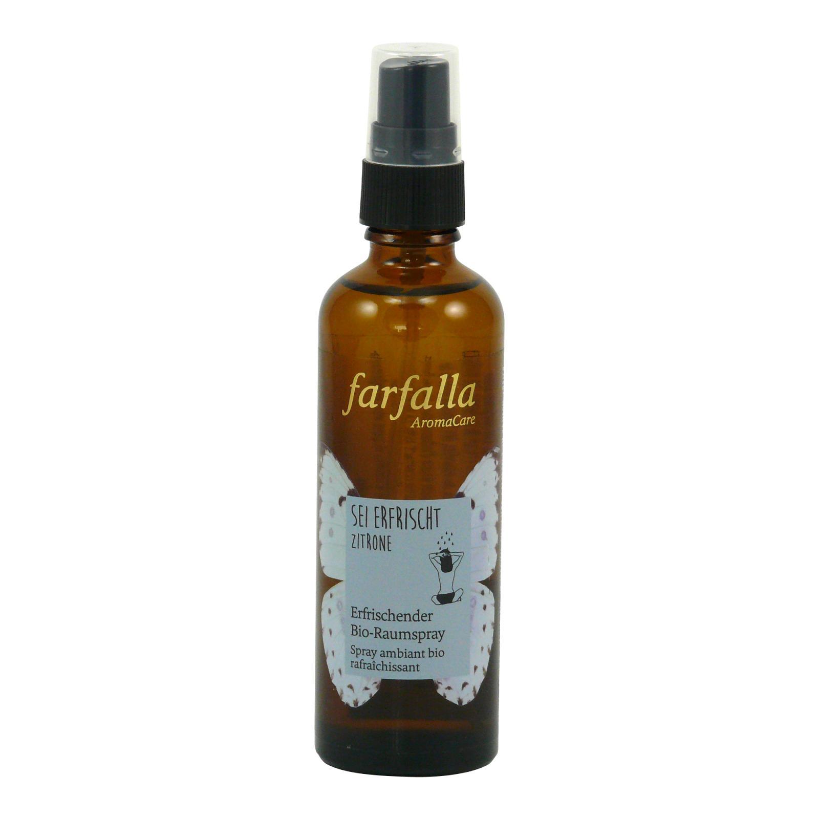 Farfalla Osvěžovač vzduchu Osvěžující citrón 75 ml