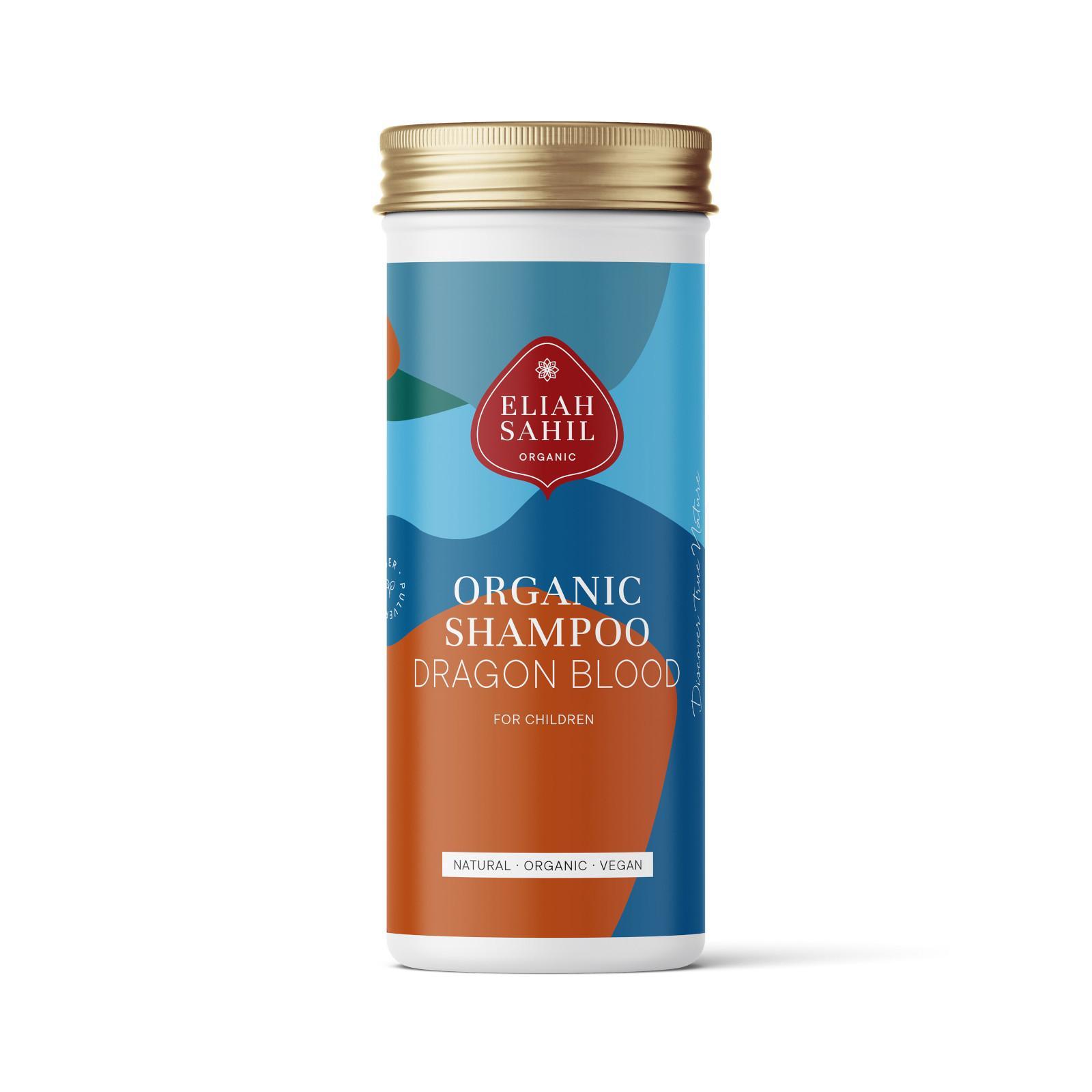 Eliah Sahil Ájurvédský práškový šampon pro děti Dragon Blood 100 g