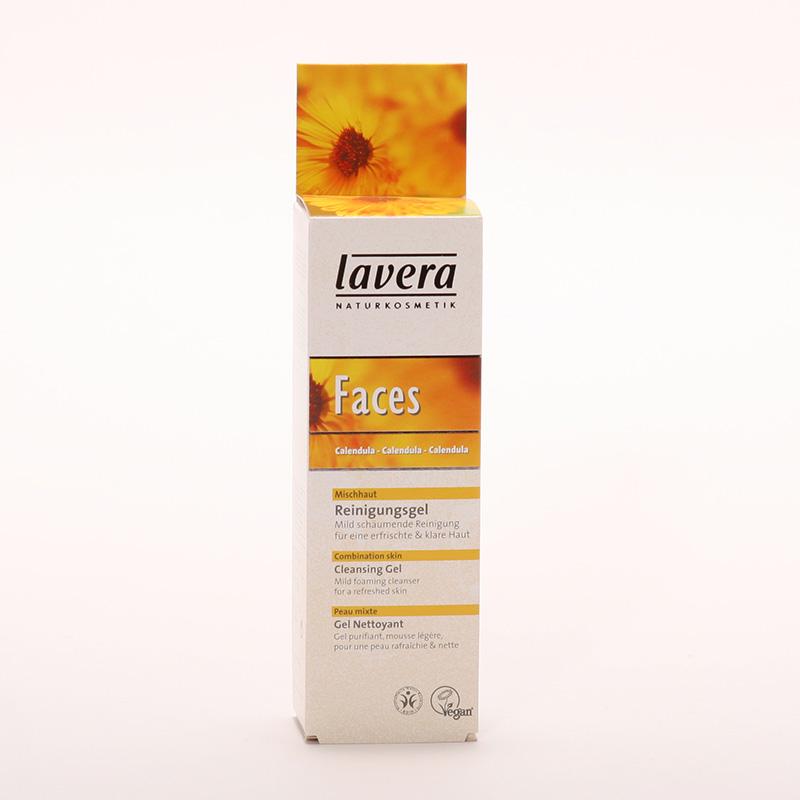 Lavera xxČistící gel měsíček, Faces 75 ml