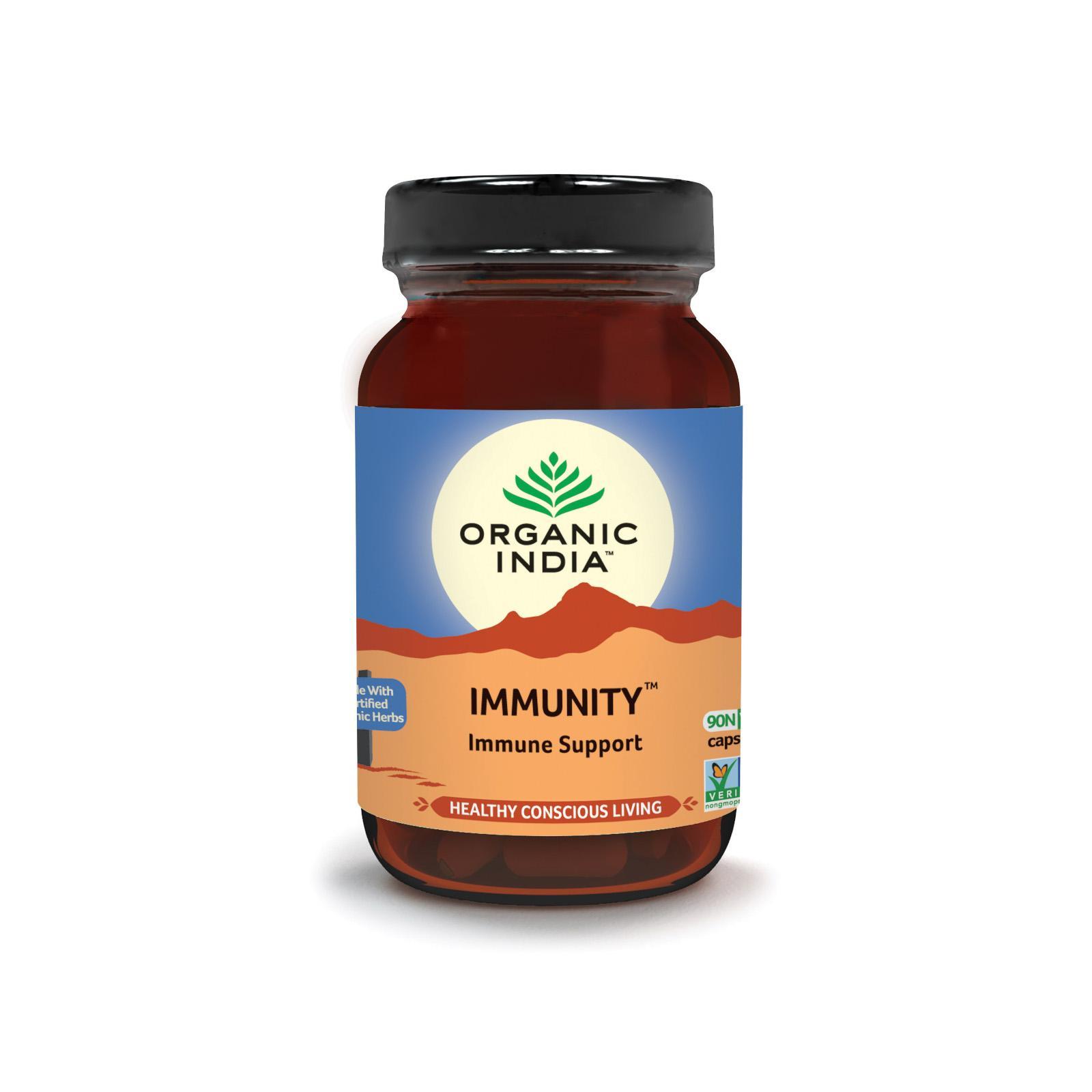 Organic India Immunity, kapsle 60 ks