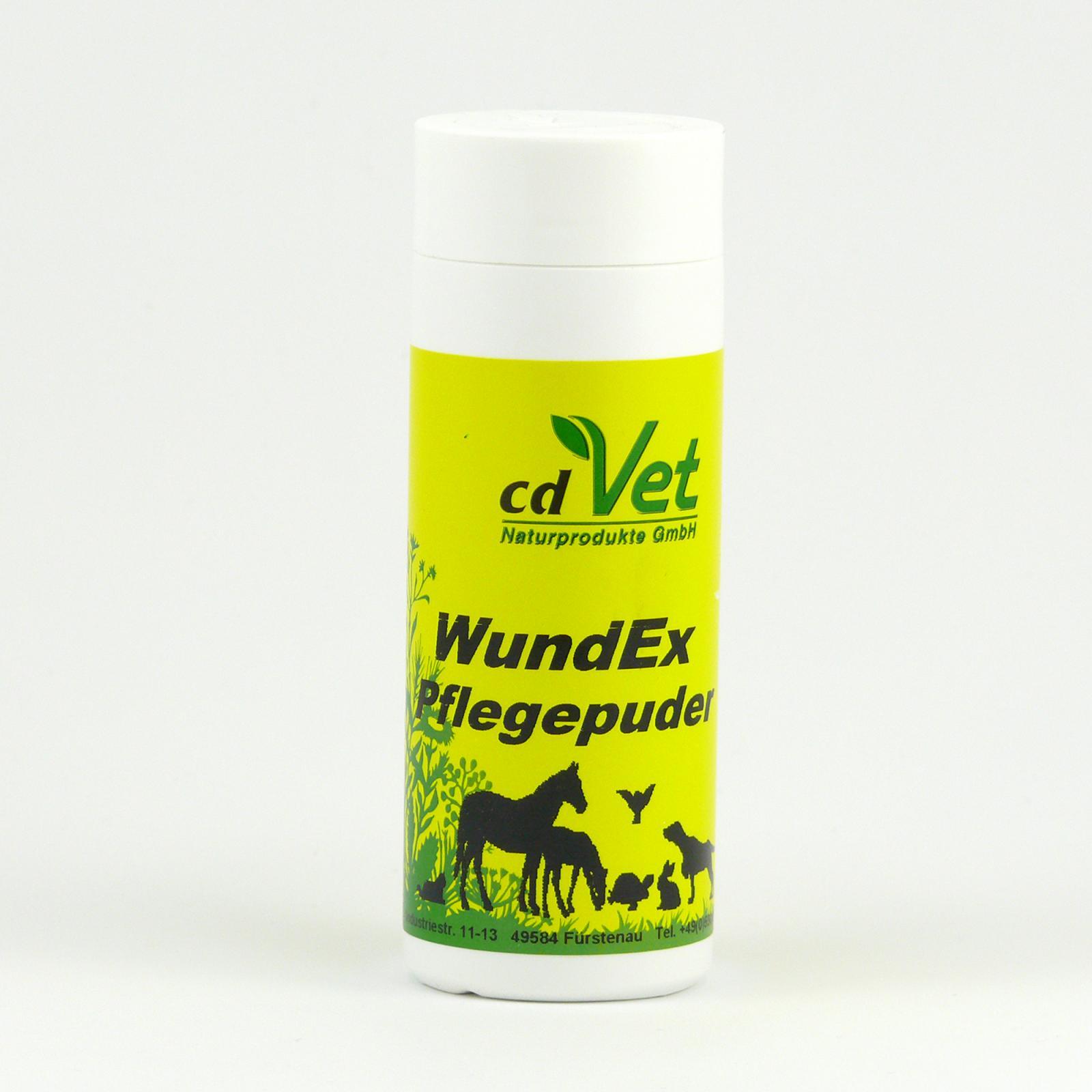 CdVet Zacelovač ran v prášku, WundEx Puder 70 g