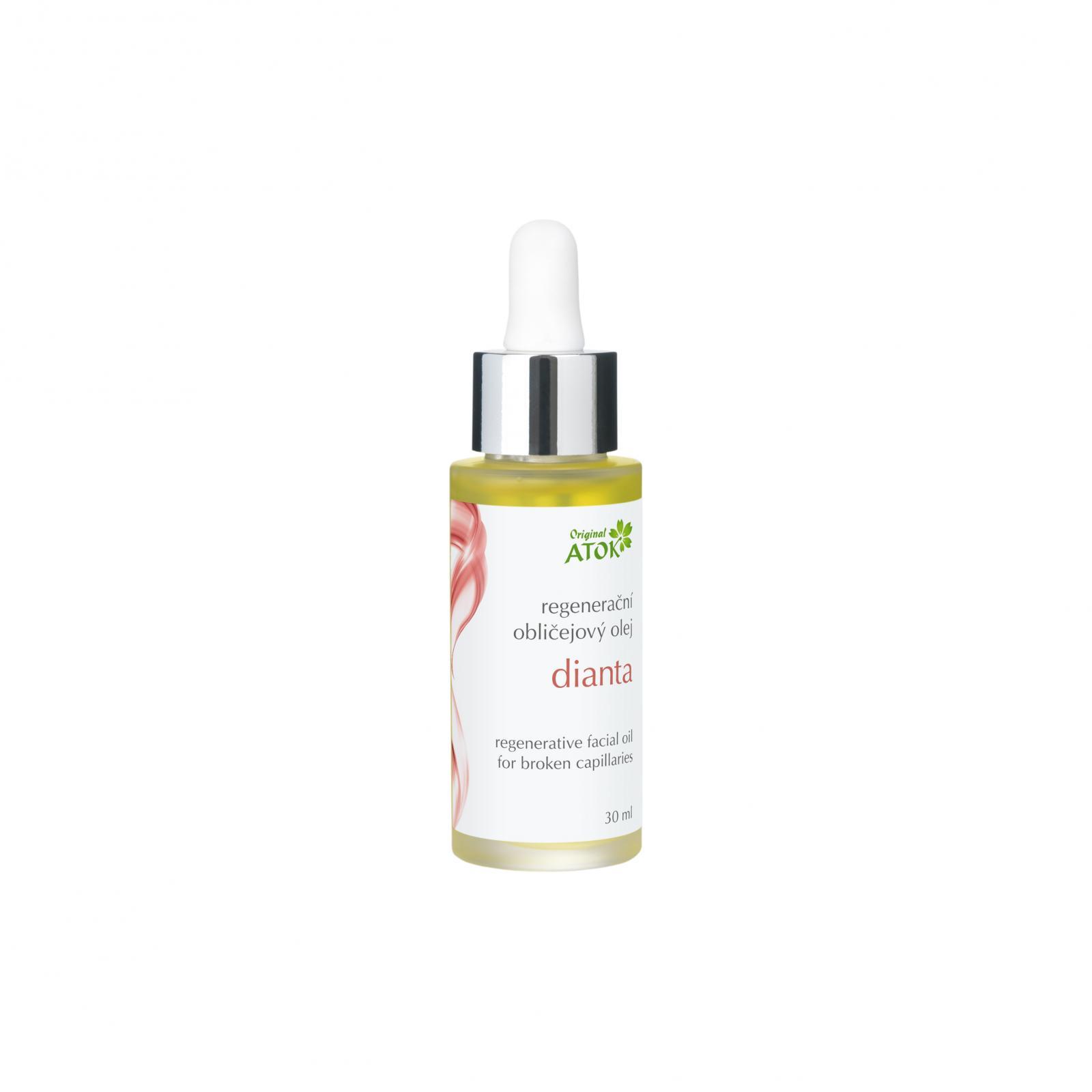 Original ATOK Regenerační obličejový olej Dianta 30 ml