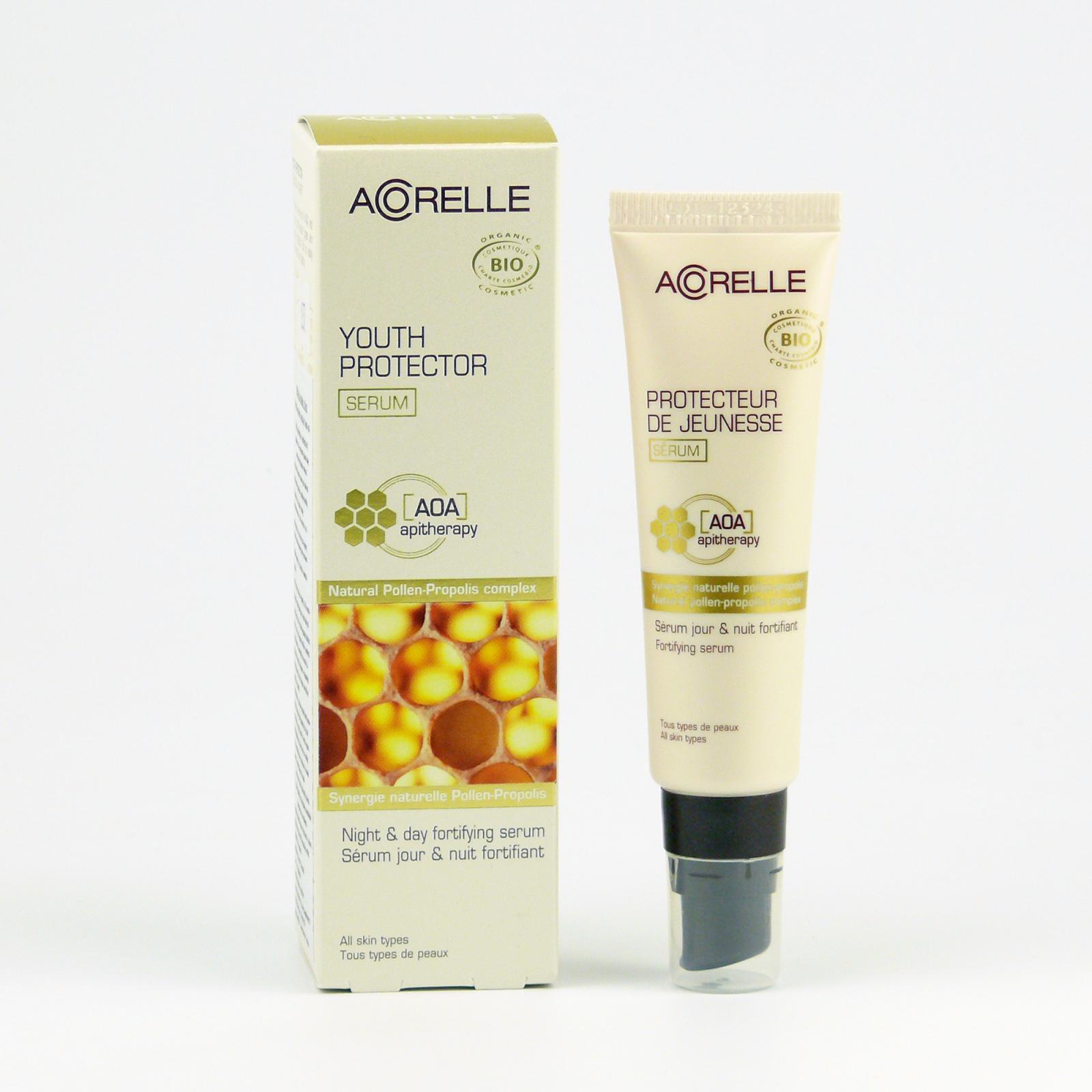 Acorelle Sérum na obličej s propolisem, Komplex AOA 30 ml