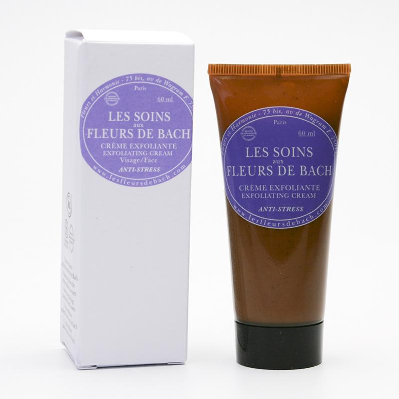 Les Fleurs de Bach Exfoliační krém s Bachovými květy, anti-stress 60 ml