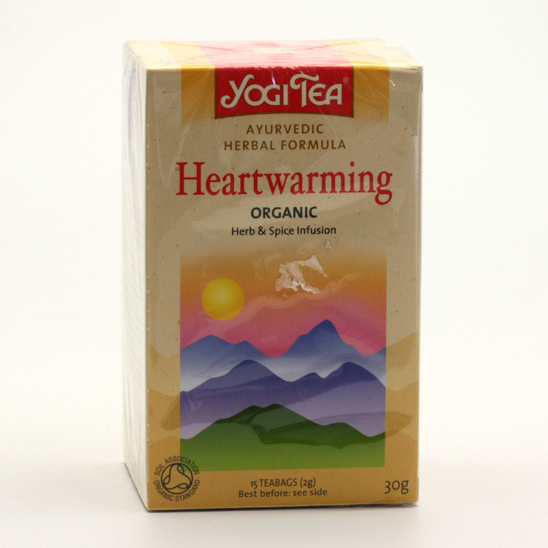 Yogi Tea Čaj Heartwarming 17 ks, 30 g