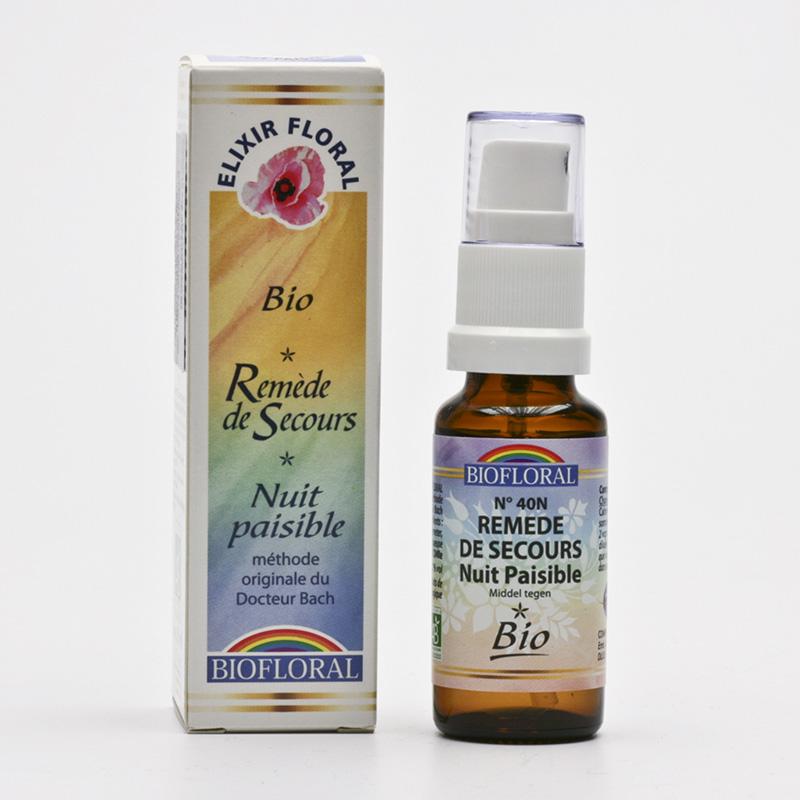 Biofloral Krizová esence Dr. Bach klidný spánek, sprej 20 ml