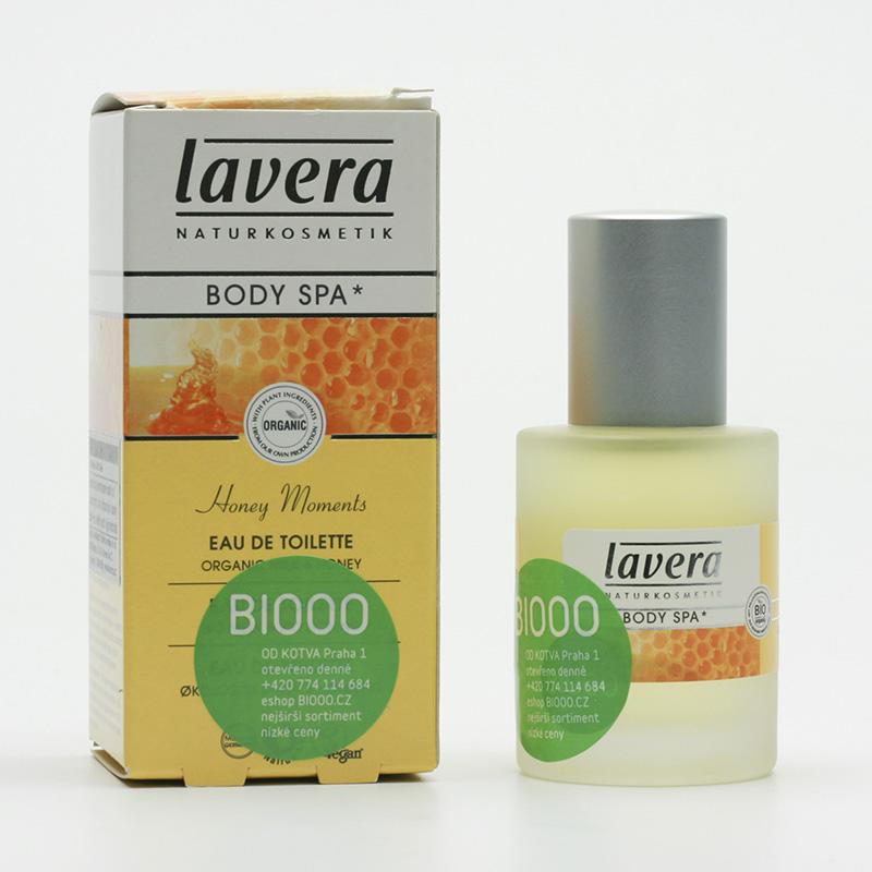 Lavera Toaletní voda mléko a med, Body Spa 30 ml
