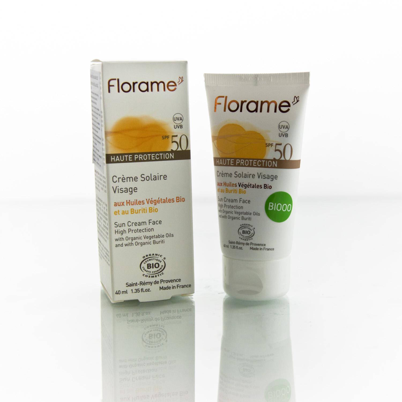 Florame Opalovací krém na obličej SPF 50 40 ml