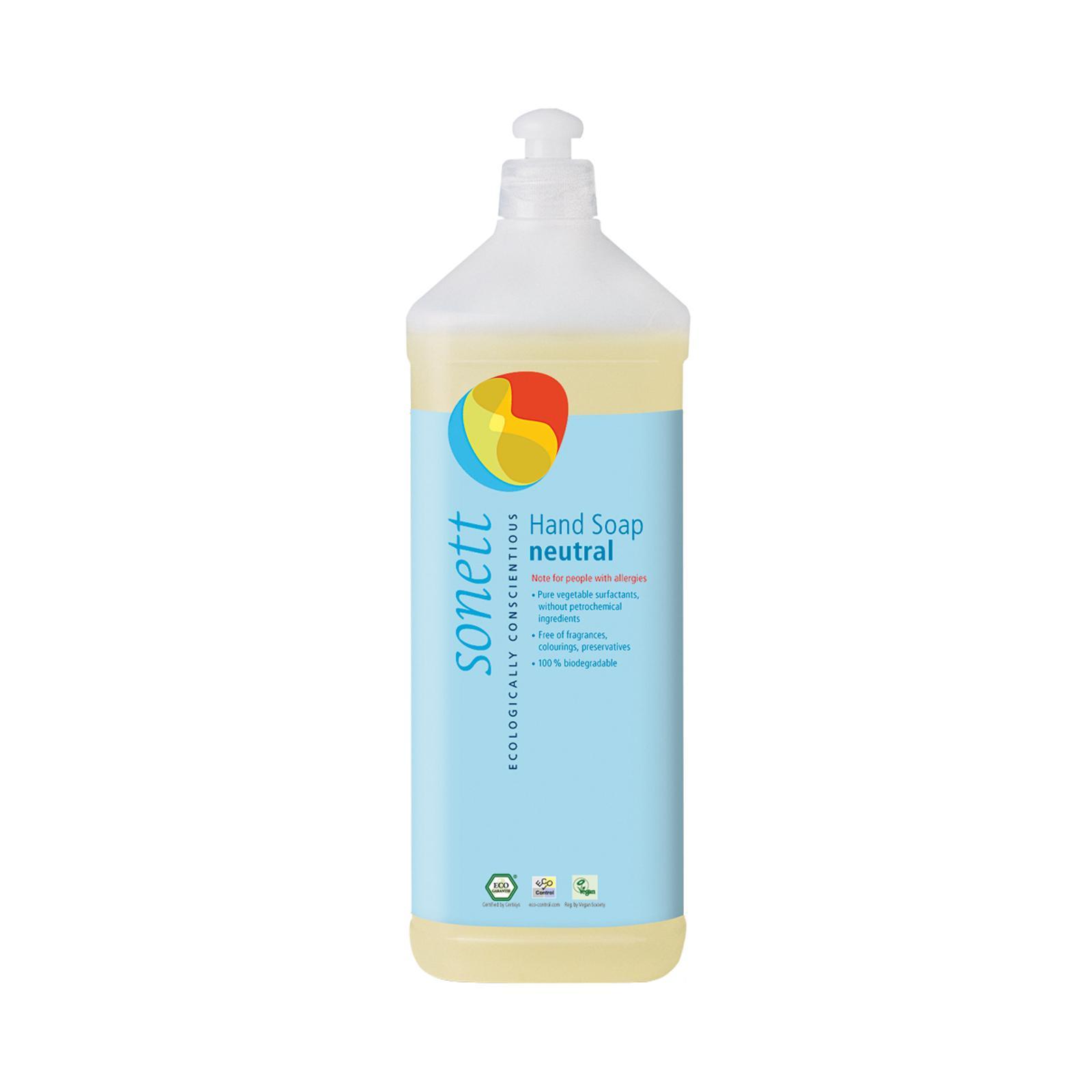 Sonett Tekuté mýdlo na ruce neutral 1 l