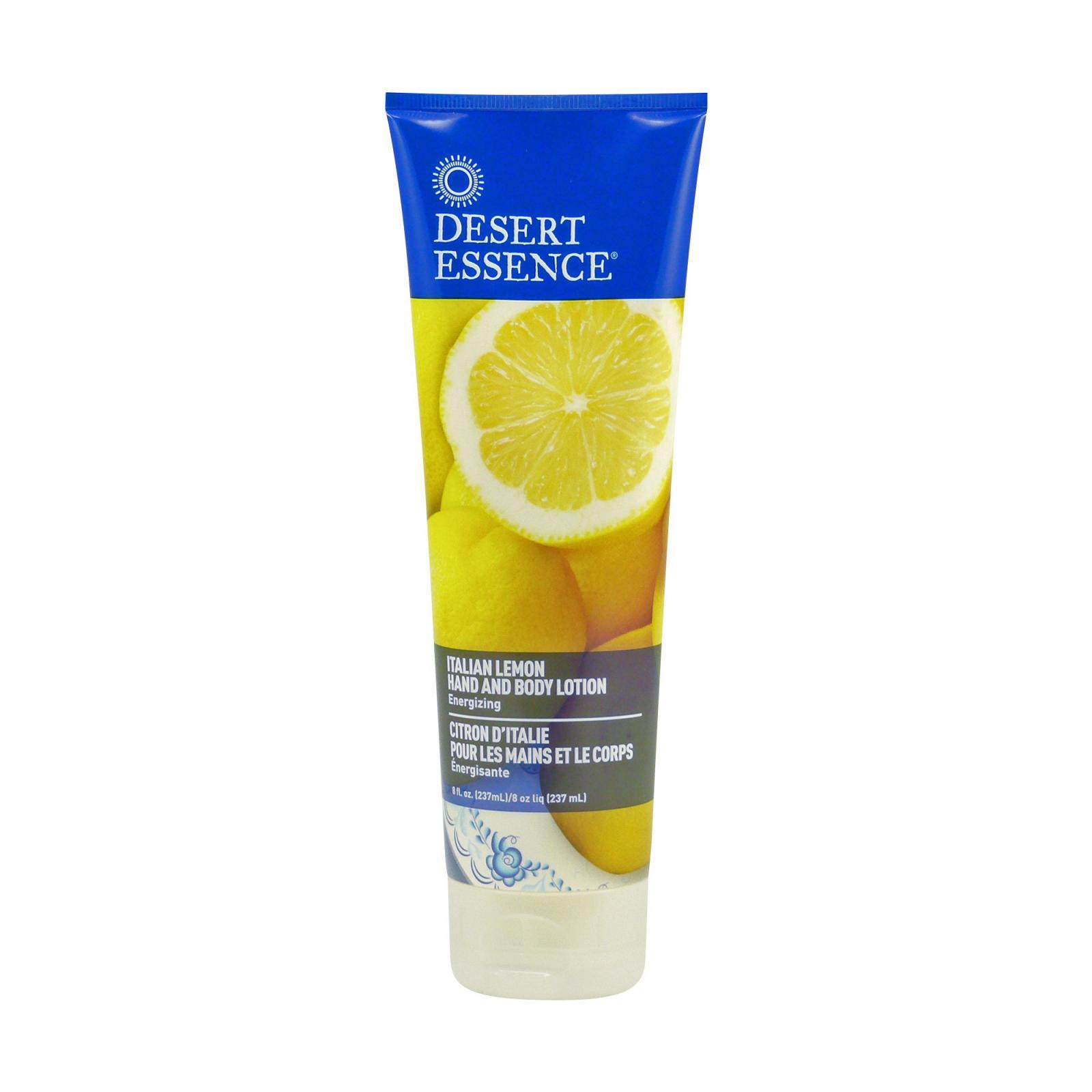 Desert Essence Tělové mléko a mléko na ruce italský citron 237 ml
