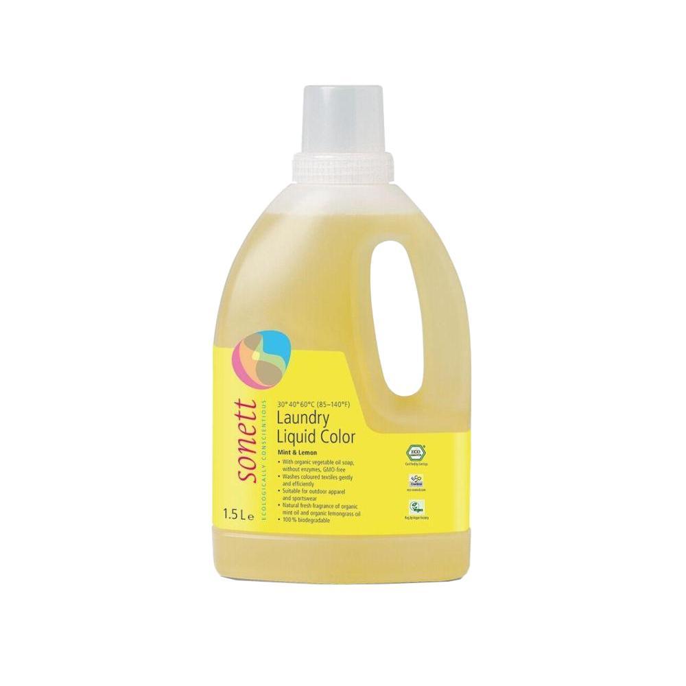 Sonett Tekutý prací gel na barevné prádlo Color 1,5 l