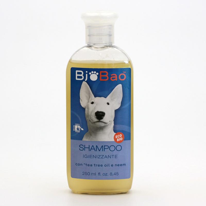 Bjobj Šampon pro psy dezinfekční, odpuzuje hmyz, BioBao 250 ml