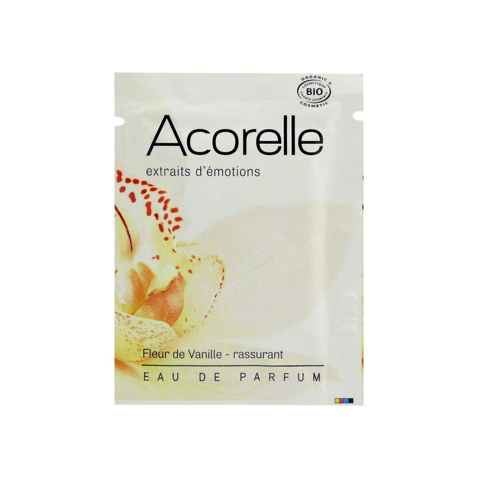 Acorelle Parfémová voda Květy vanilky 3 ml, vonný kapesník