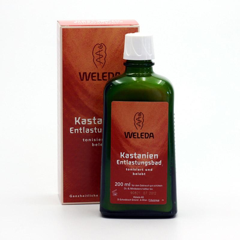 Weleda Kaštanová koupel pro unavené končetiny 200 ml
