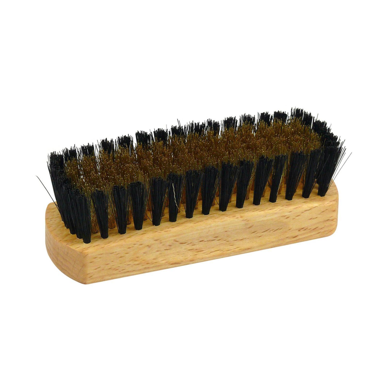 Redecker Kartáč na semiš z bukového dřeva 12 cm