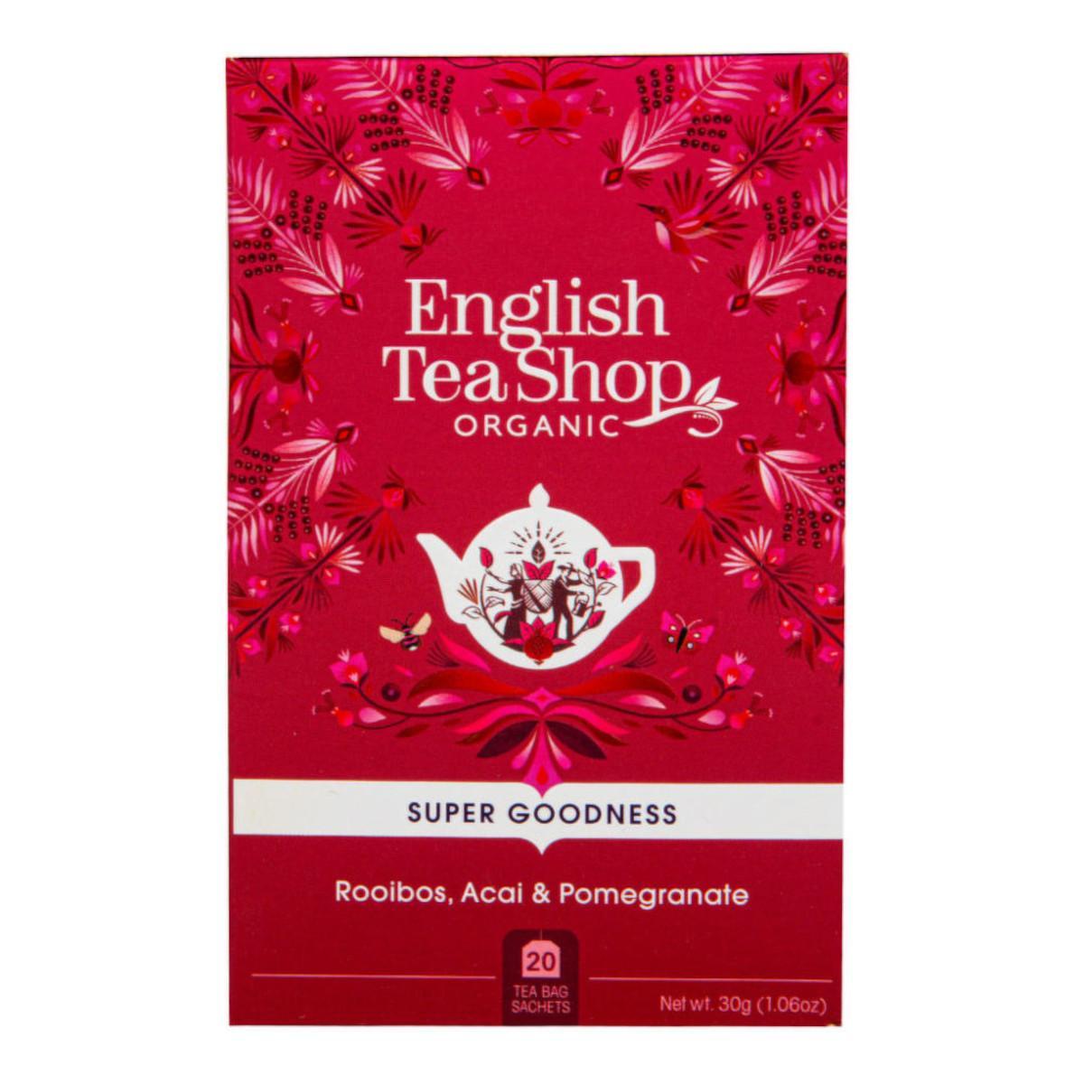 English Tea Shop Rooibos, Acai a Granátové jablko 35 g, 20 ks