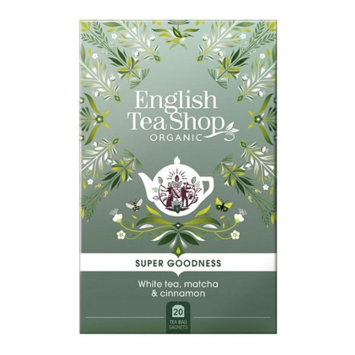 English Tea Shop Bílý čaj, Matcha a Skořice 35 g, 20 ks