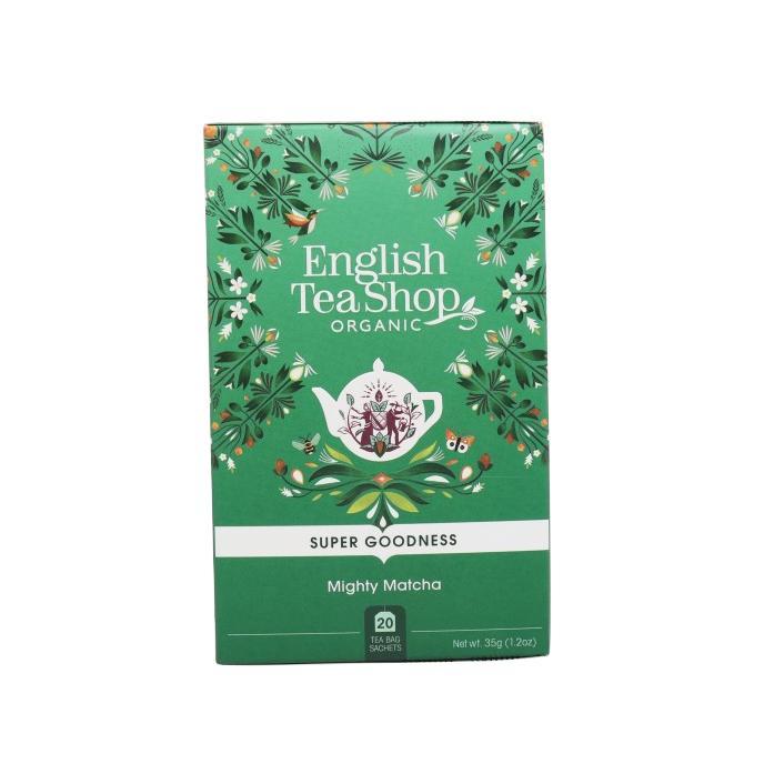 English Tea Shop Super Food Tea, Mocná Matcha 35 g, 20 ks