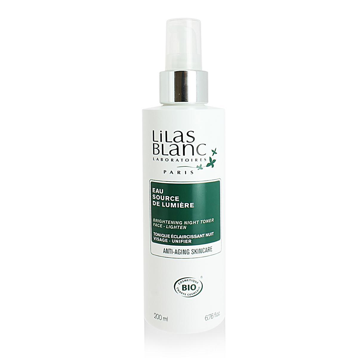 Lilas Blanc Rozjasňující noční tonikum 200 ml
