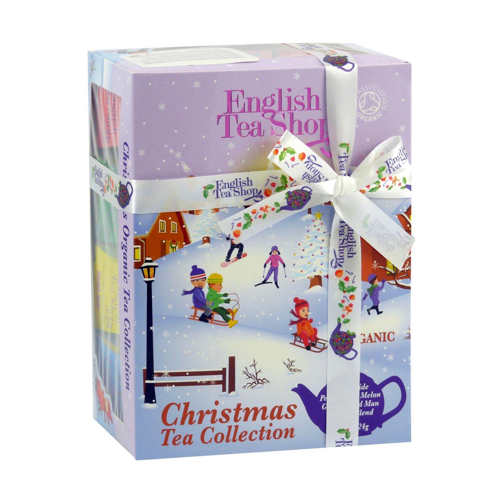English Tea Shop Vánoční sada Lyžaři a sáňkaři 12 ks, 24 g