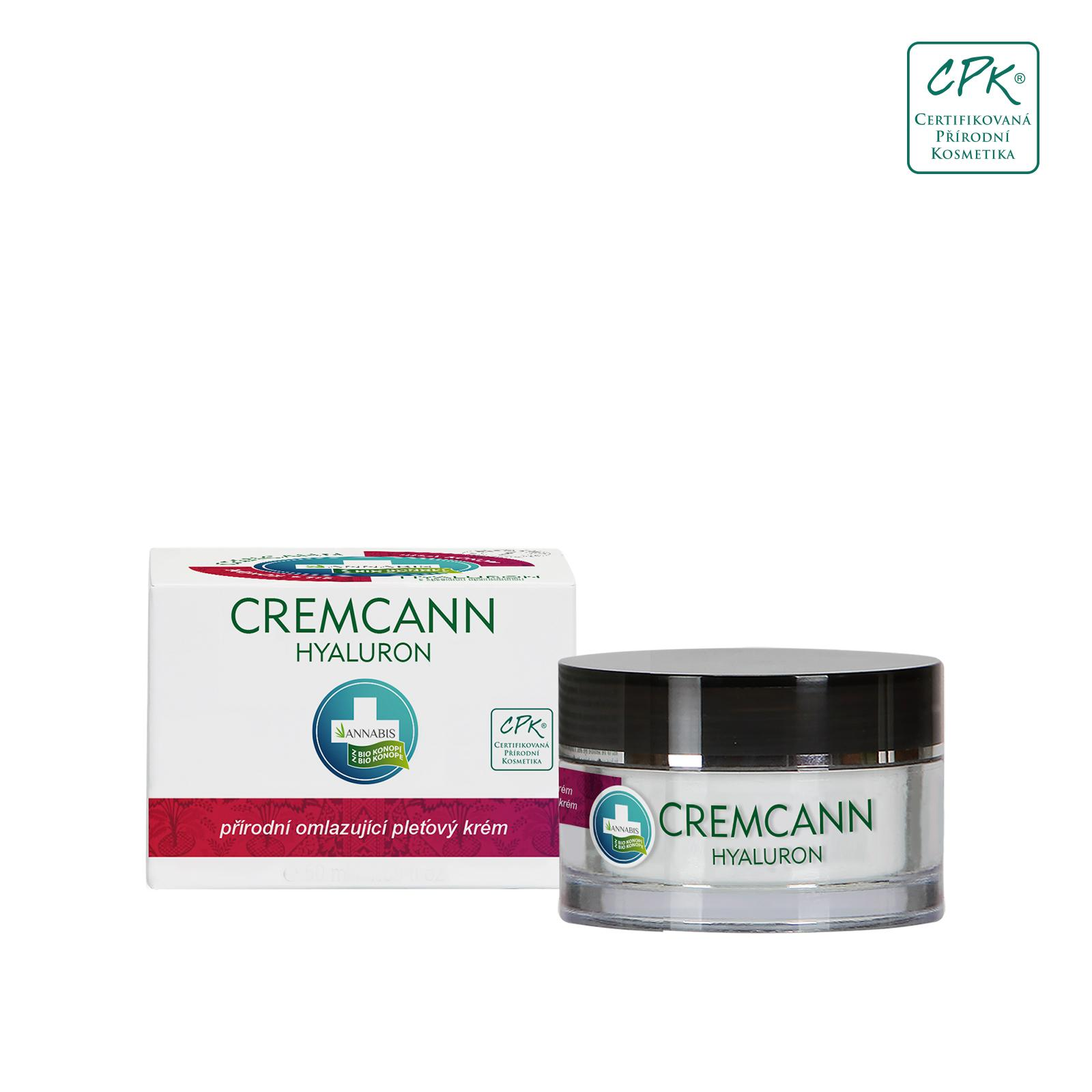 Annabis Hyaluronový krém, Cremcann 15 ml