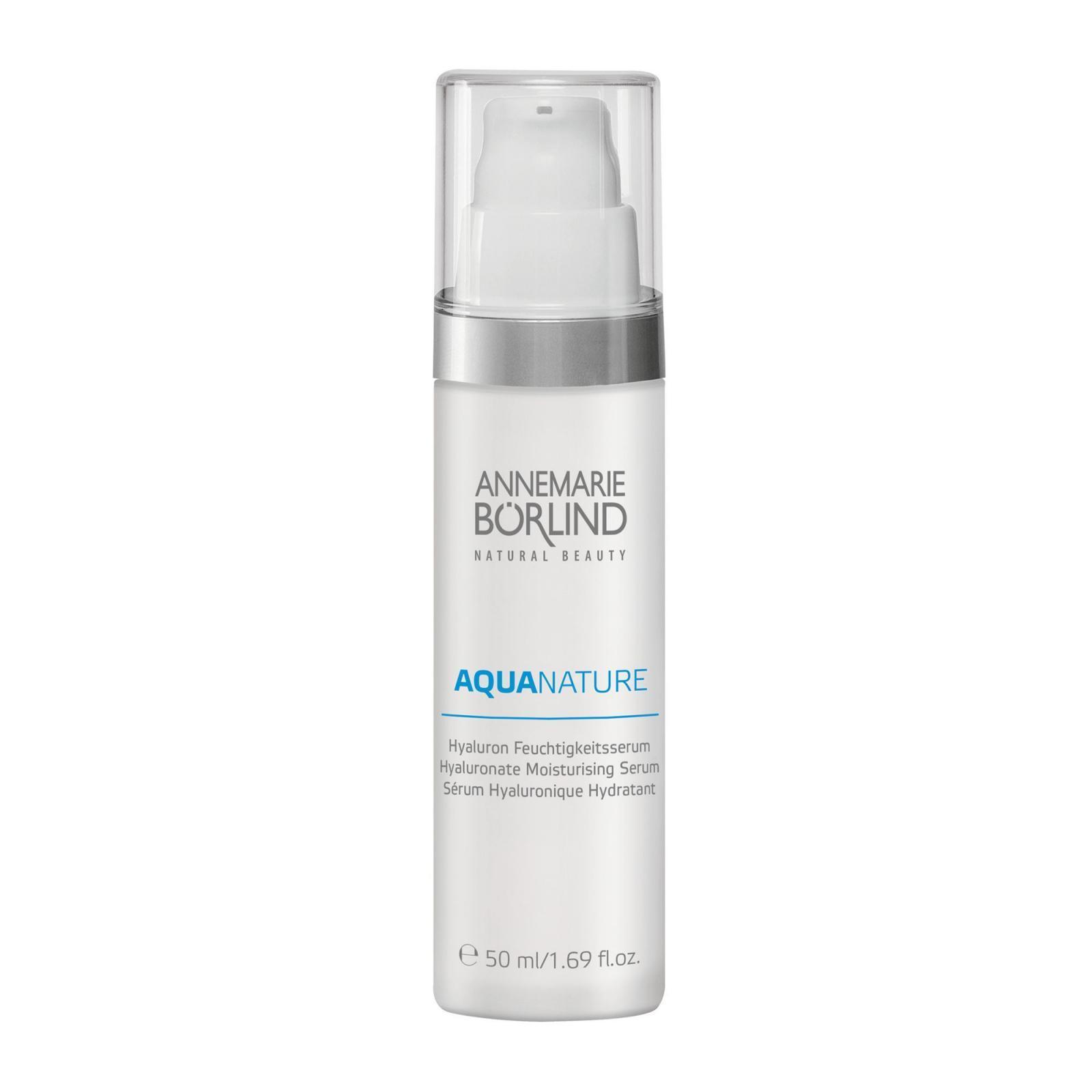 Annemarie Borlind Hyaluronové hydratační sérum, Aquanature 50 ml