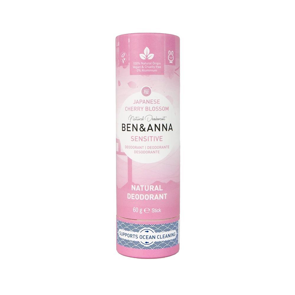 Ben & Anna Tuhý deodorant sensitive 60 g, třešňový květ