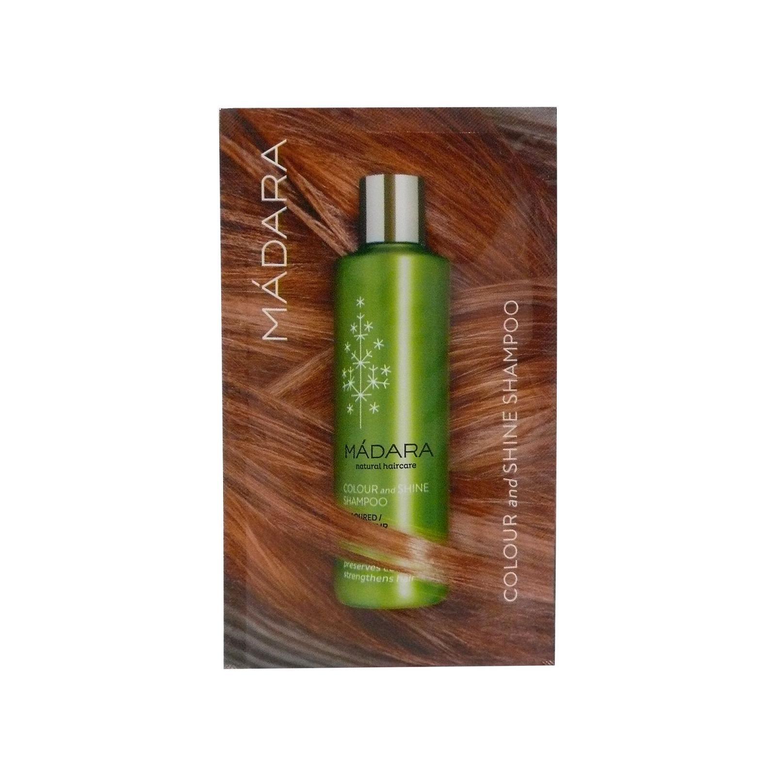 MÁDARA Šampon pro suché a barvené vlasy 10 ml
