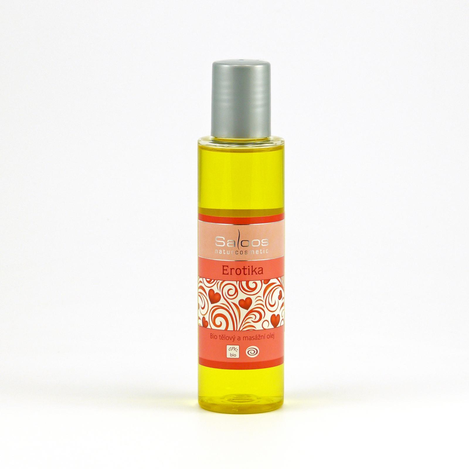 Saloos Masážní olej erotika 125 ml