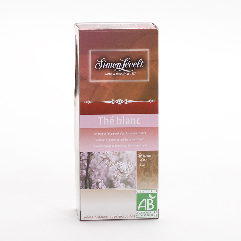 Simon Levelt White tea 22 ks, 38,5 g