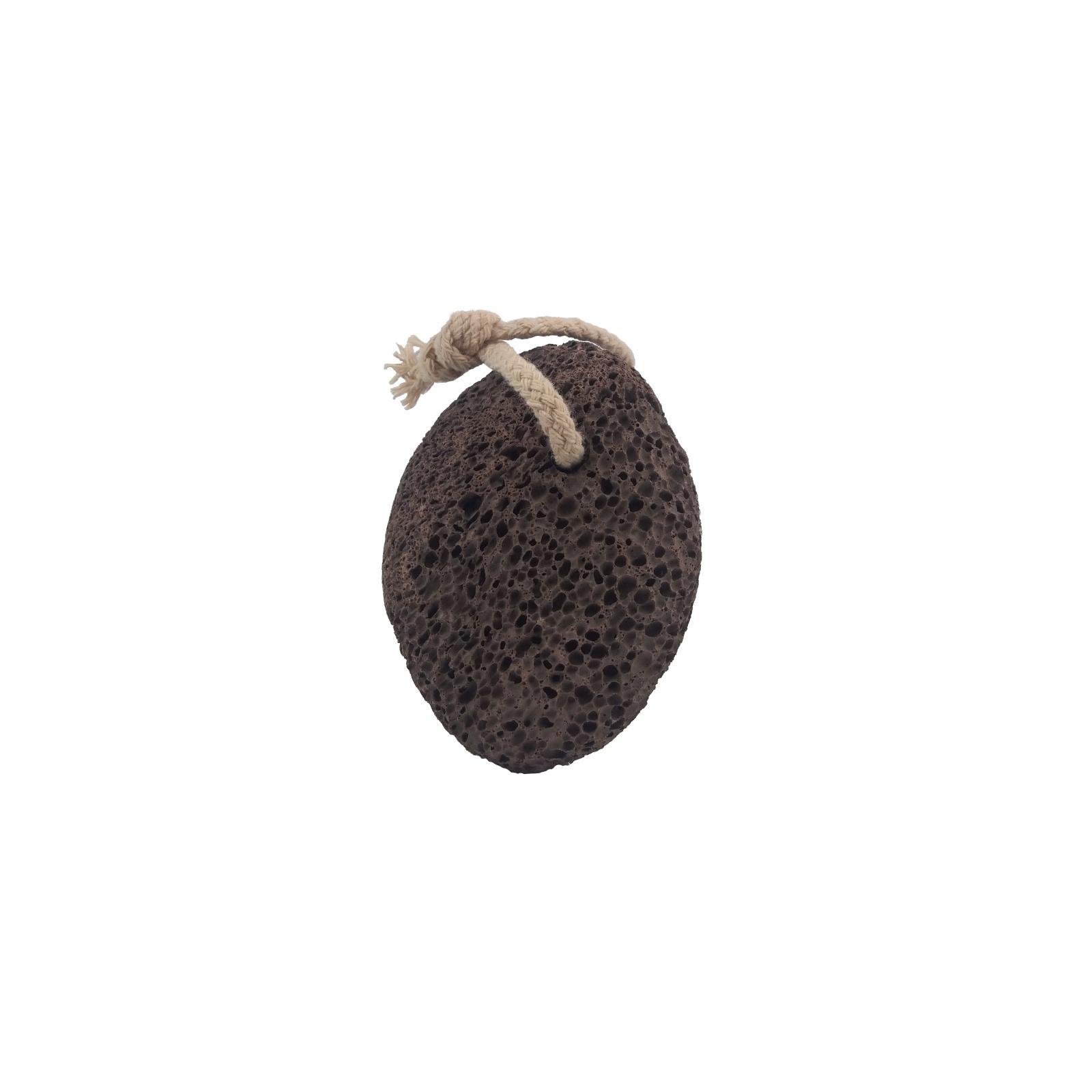 Sponge Traders Pemza vulkanická hnědá s provázkem 1 ks