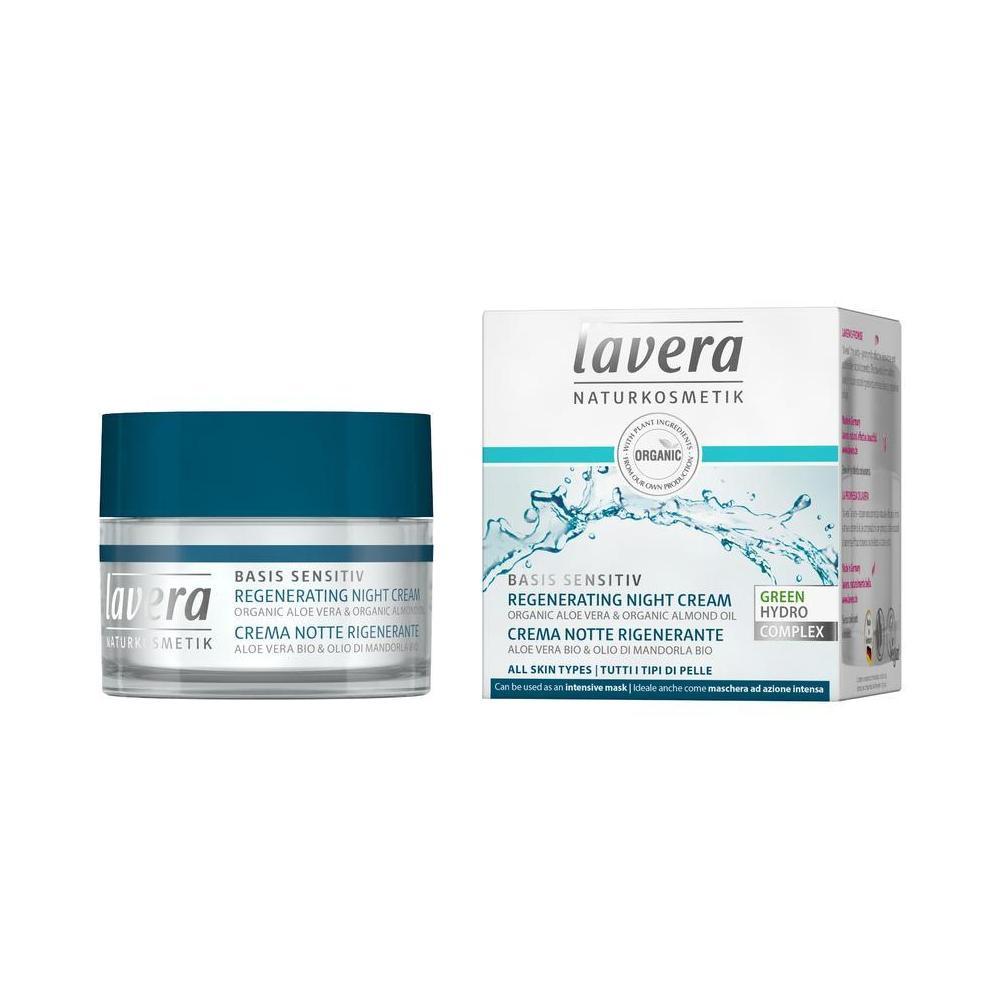 Lavera Regenerační noční krém, Basis Sensitiv 50 ml
