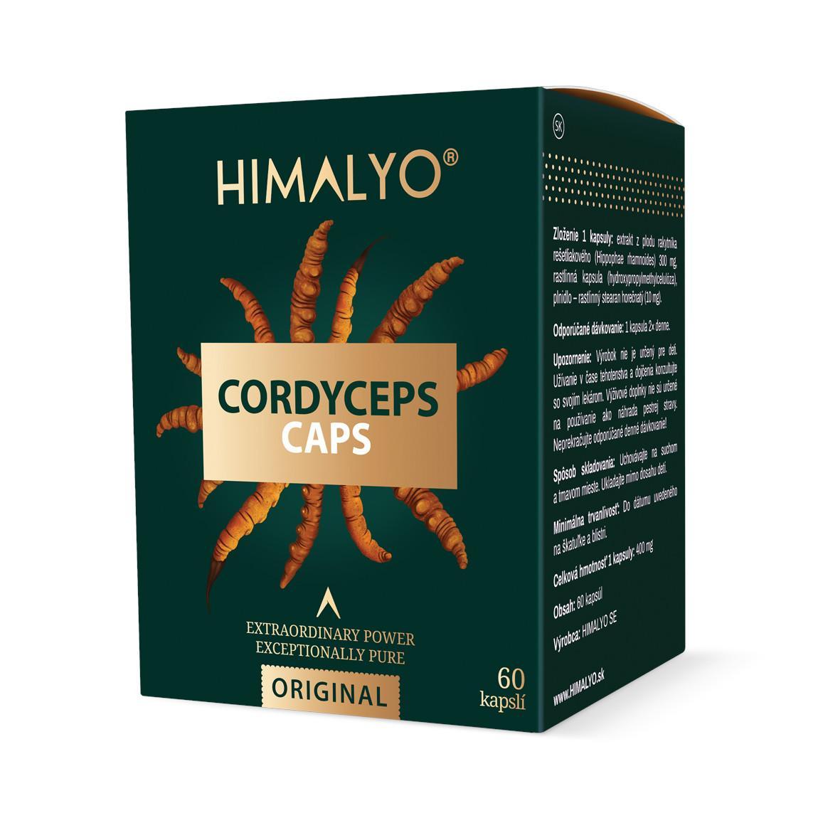 Himalyo Cordyceps, BIO, kapsle 60 ks, 27 g