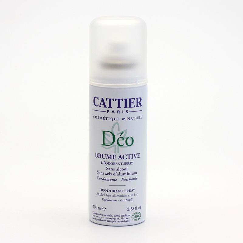 Cattier Deodorant dámský, kardamon, pačuli 100 ml