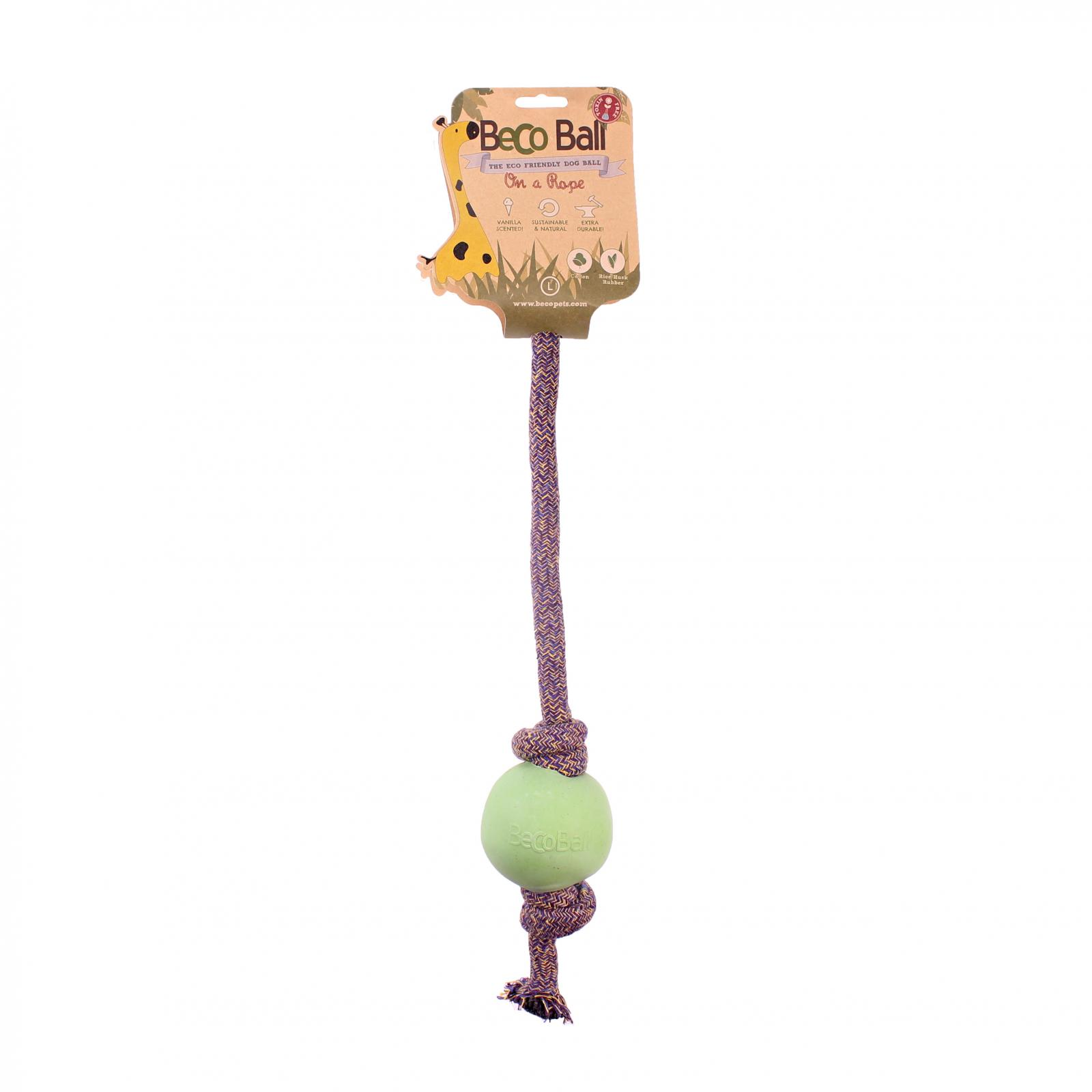 Beco Pets Beco Rope Ball Large 1 ks, zelená